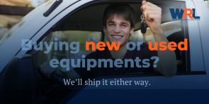 We ship new and old equipment