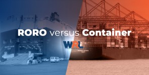RoRo Shipping versus Container Shipping